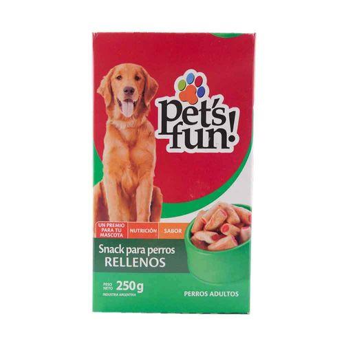 Snack Para Perros Rellenos Pet S Fun 250 Gr