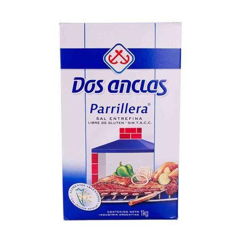 Sal Entrefina Dos Anclas 1 Kg
