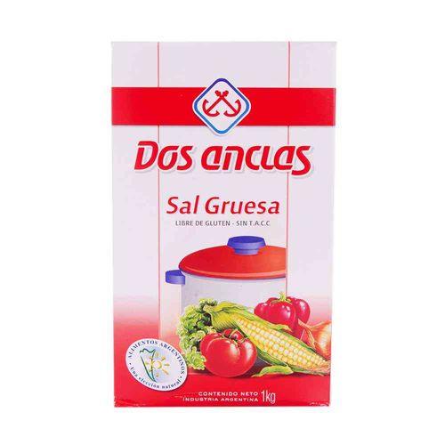 Sal Gruesa Dos Anclas 1 Kg
