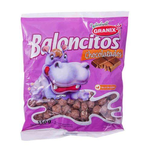 Cereal Granix Baloncitos Chocolate 150 Gr