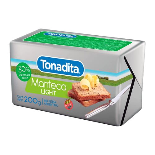 Manteca Tonadita Light 200 Gr