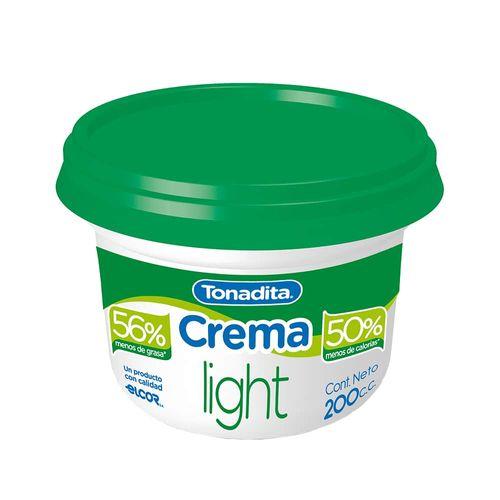 Crema De Leche Tonadita 200 Cc