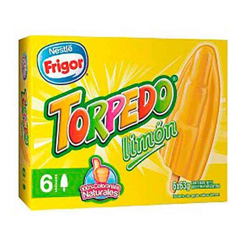 Helado Torpedo Limón 6 U 315 Gr