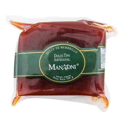Dulce De Membrillo Manzoni 500 Gr