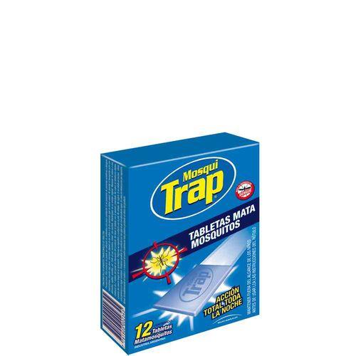 Tabletas Mata Mosquitos Mosqui Trap 12 U