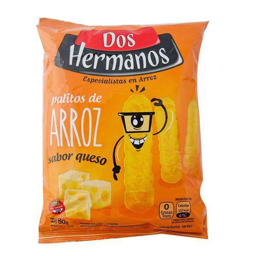 Snack Dos Hermanos Queso 80 Gr