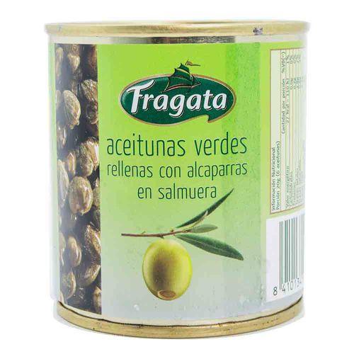 Aceitunas Fragata Rellenas Con Alcaparras 85 Gr