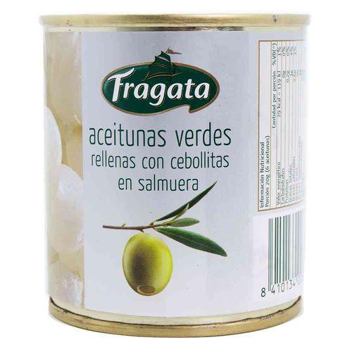 Aceituna Fragata Rellenas Con Cebollitas 85 Gr