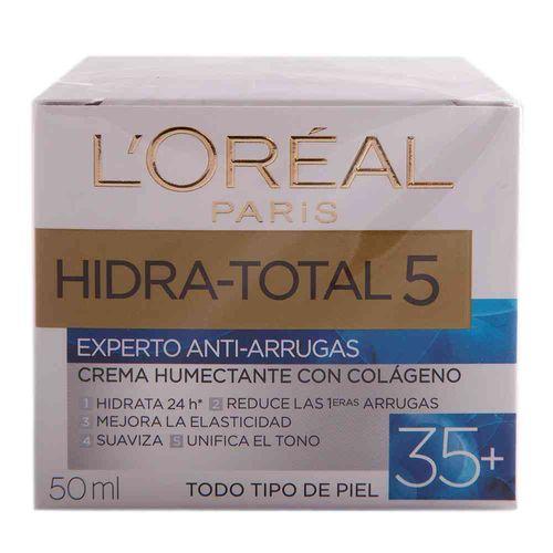 Crema Antiarrugas Hidra Total 5 Colageno 50 Ml