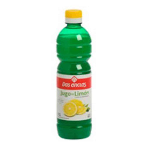 Jugo De Limón Dos Anclas 500 Ml