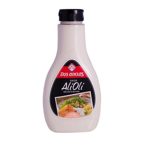 Salsa Ali Oli Dos Anclas 360 Gr