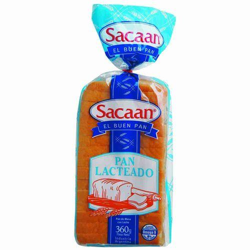 Pan Lacteado Saccan  X 360g-paq-gr.-360