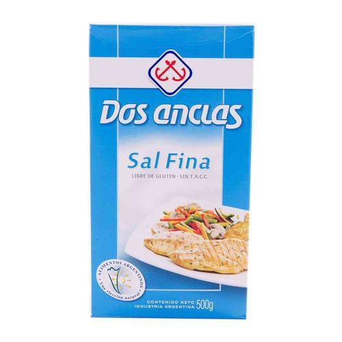 Sal Fina Dos Anclas 500 Gr