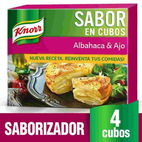 Saborizador Albahaca Y Ajo Knorr 38 Gr