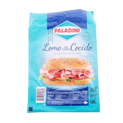 Lomo Paladini Feteado 120 Gr