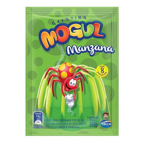 Gelatina Mogul Manzana 30 Gr