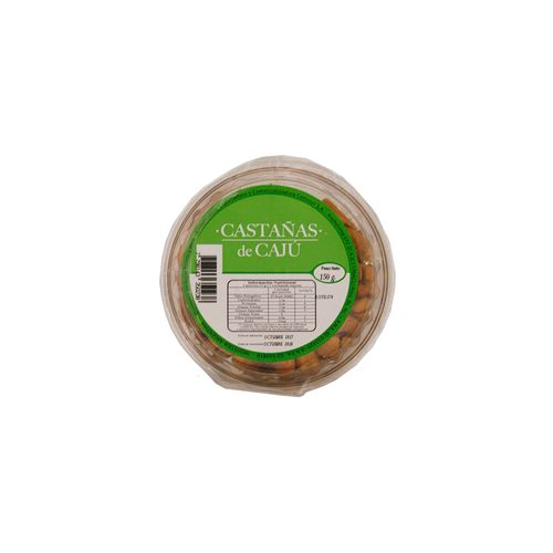 Castañas De Cajú 150 Gr