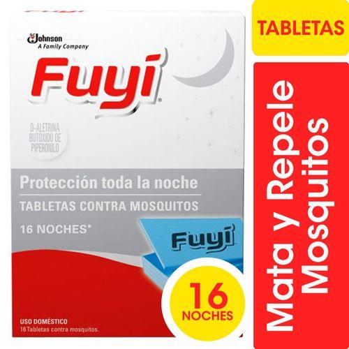 Tabletas Para Mosquitos  Fuyí 16u