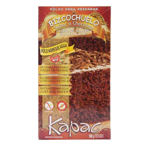 Bizcochuelo Kapac Chocolate 500 Gr