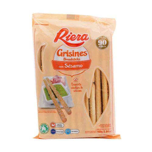 Grisines Riera Con Semillas De Sésamo 160 Gr