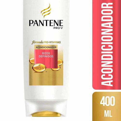 Acondicionador Pantene Rizos 400ml