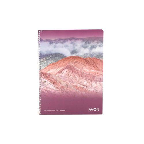 Cuaderno Cuadriculado Avon 84 Hojas