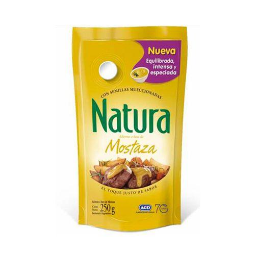 Aderezo Mostaza Natural 250 Gr