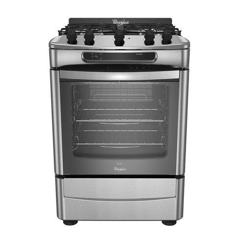 Cocina Multigas Wf360xg Whirlpool 60 Cm Inox