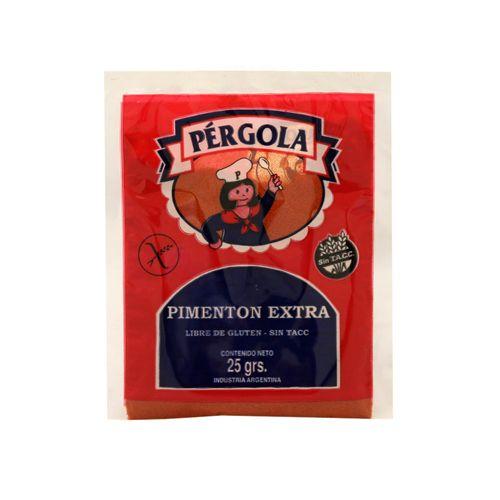 Pimentón Extra Pergola S/tacc X 25 Gr