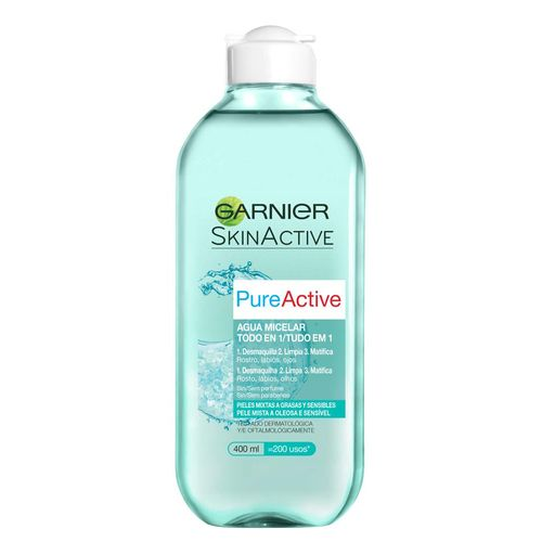 Agua Micelar Garnier Pure - 400 Ml