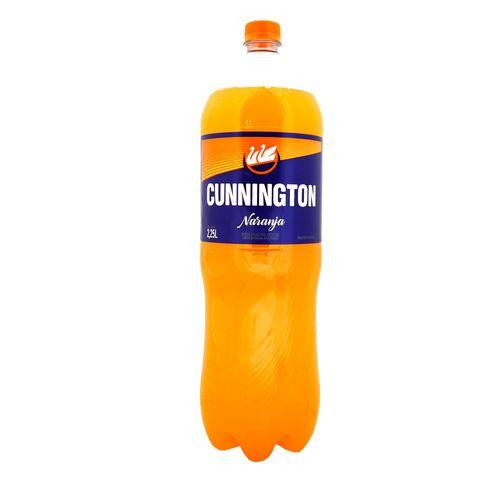 Gaseosa Cunnington Naranja 2250cc