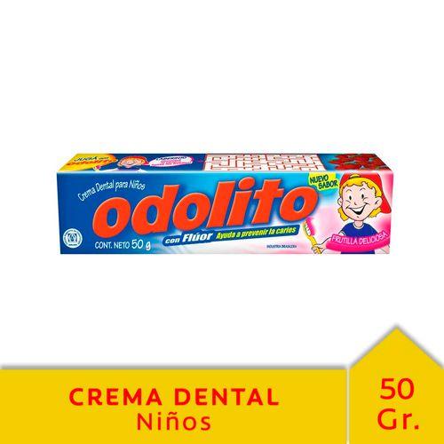Crema Dental Odolito Frutilla 50 Gr
