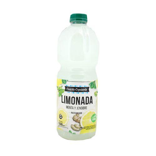 Limonada De Menta Y Jengibre Con Stevia 1500 Cc