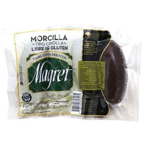 Morcilla Magret Tipo Criolla 400 Gr