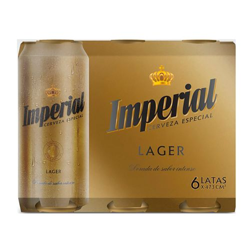 Cerveza Imperial Lata 473 Cc - Six Pack
