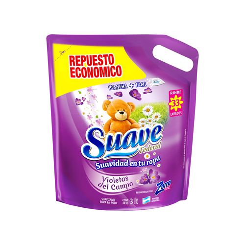 Suavizante Violetas Del Campo Doypack 3 L