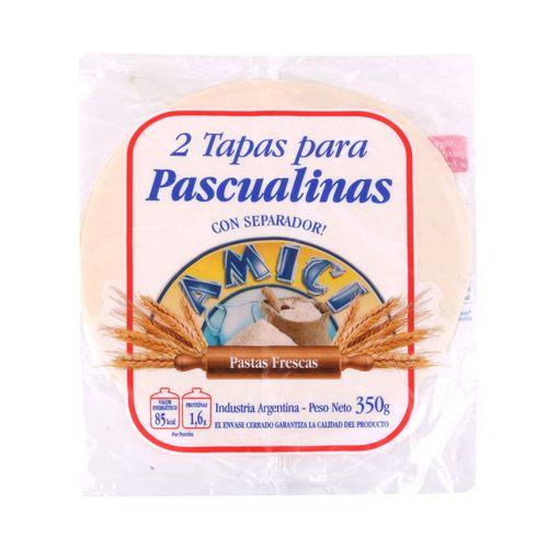 Tapas Para Pascualina Amici 350 Gr