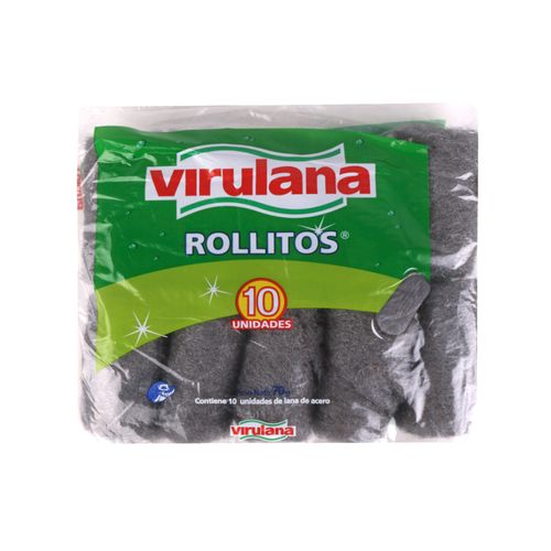 Rollito De Acero Virulana - 10 U