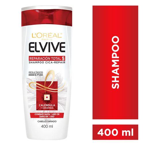 Shampoo Elvive Reparacion Total 5 400ml