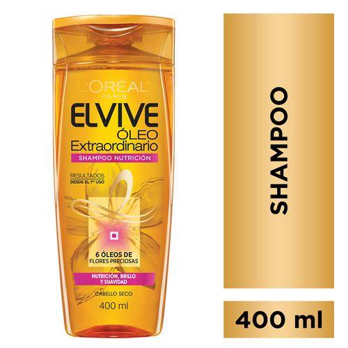 Shampoo Elvive Extra Cabello Seco 400ml