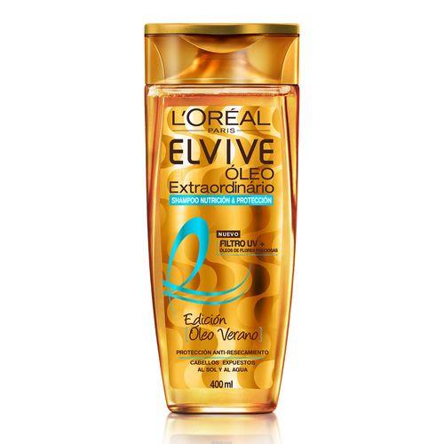 Shampoo Oleo Extraordinario Summer Edition Elvive Loreal Paris 400 Ml