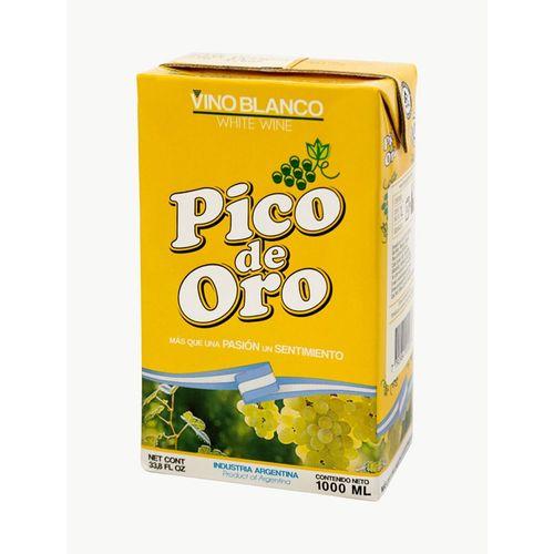 Vino De Mesa Pico De Oro Blanco 1 L