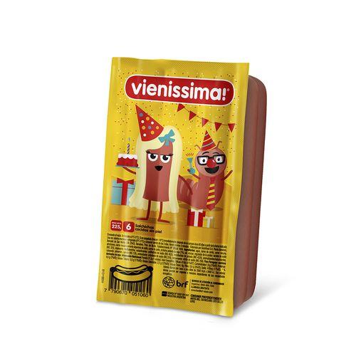 Salchichas Vienissima De Viena 225 Gr 6 U