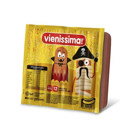 Salchichas Vienissima De Viena 450 Gr 12 U