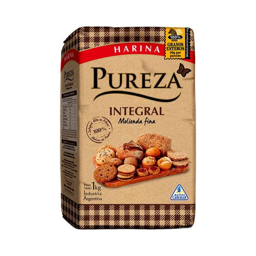 Harina Pureza Integral 100% 1 Kg