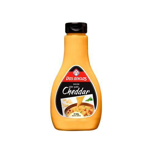 Salsa Dos Anclas Cheddar 360 Gr