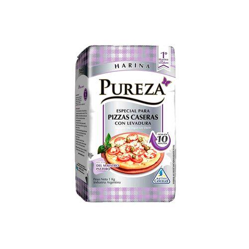 Harina Pureza Para Pizza 1 Kg