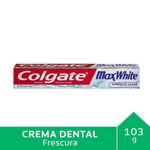 Crema Dental Colgate Max White Crystal Mint 75 Ml