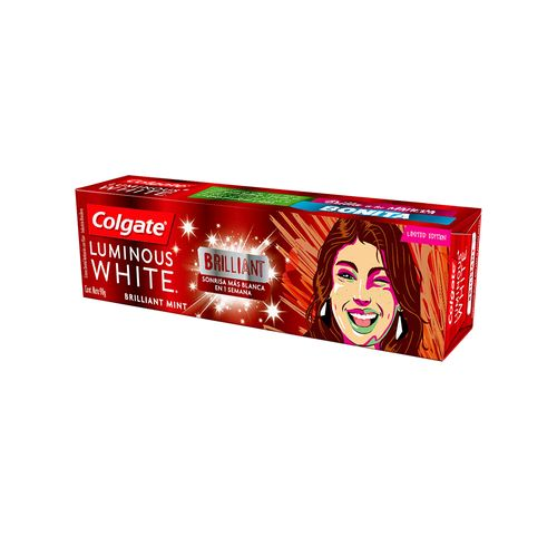 Crema Dental Colgate Luminous White Brilliant 90 Gr