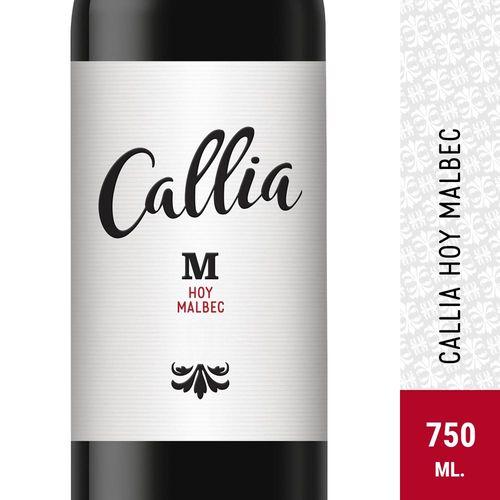 Vino Tinto Malbec Callia Hoy 750 Ml